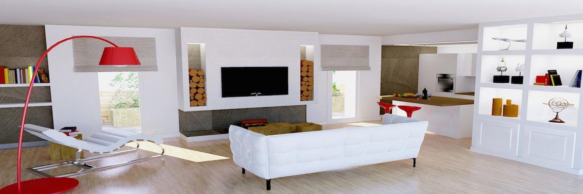 Soluzioni open space unire salone e cucina - Salone e cucina open space ...